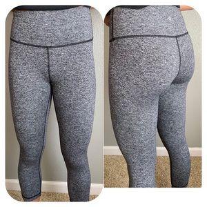 Lululemon Black Gray Activity Leggings